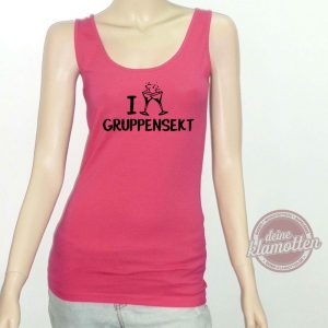 Fun Shirt I love Gruppensekt