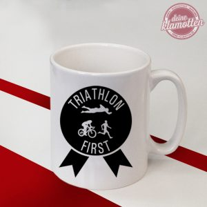Tasse Triathlon First Herren