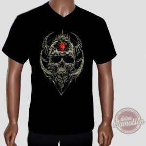 Fun Shirt Diamond Skull Totenkopf