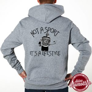 Herren Fun Hoodie Not a Sport it´s a Lifestyle Eishockey Spaß Sport